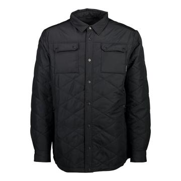 Mons Royale Men's The Keeper Insulated Shirt - Black