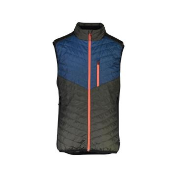 Mons Royale Men's Arete Insulation Vest - Atlantic/Rosin