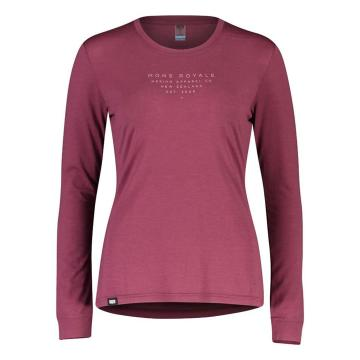 Mons Royale Women's Icon Long Sleeve - Wild Ginger