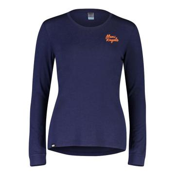 Mons Royale Women's Icon Long Sleeve - Navy