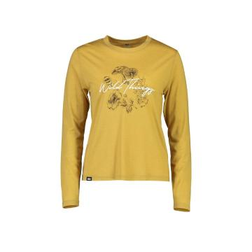 Mons Royale Women's Icon Relaxed Long Sleeve - Honey