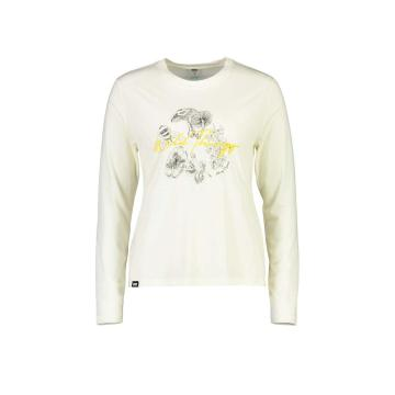 Mons Royale Women's Icon Relaxed Long Sleeve - White