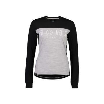 Mons Royale Women's Redwood Enduro VLS - Black/Grey Marl