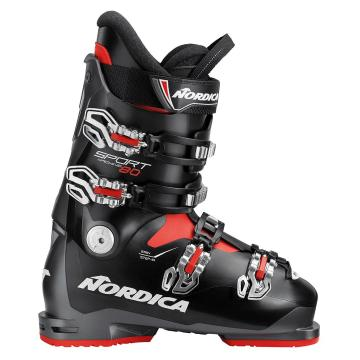 Nordica 2019 Men's Sportmachine 80 Ski Boots - Anth/Black/Red