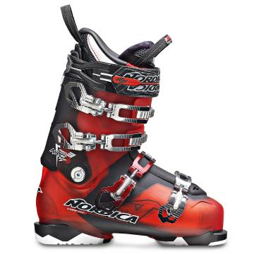 Nordica Men's Nrgy Pro 3 110 Ski Boots - Red Black