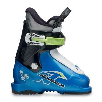 Nordica 2017 Junior Firearrow Team 1 25 Ski Boots - Blu Blk Wht