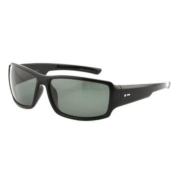 Dot Dash Exxellerator Sunglasses - Black Gloss/Polarized Grey