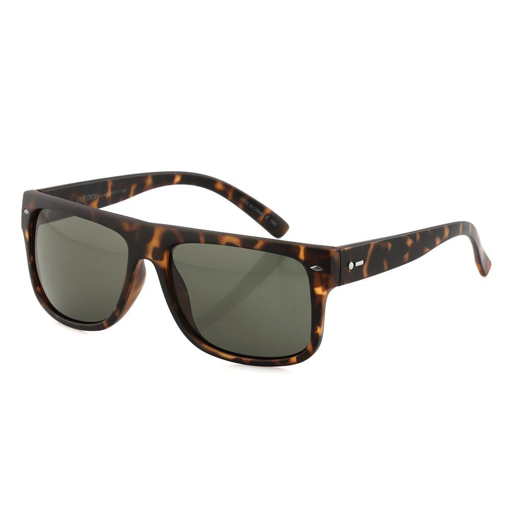 1ba2f8b702e Dot Dash Sidecar Sunglasses - Tortoise Satin Grey