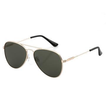 Dot Dash Aerogizmo Sunglasses - Gold Gloss/Vintage Grey