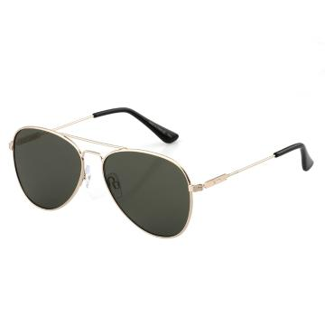Dot Dash Aerogizmo Sunglasses - Gold Gloss/Vintage Grey