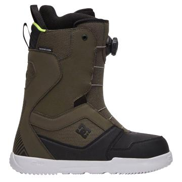 DC 2021 Men's Scout BOA Snowboard Boots - Green