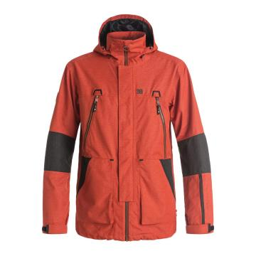 DC   Men's Command Jacket - Red Orange