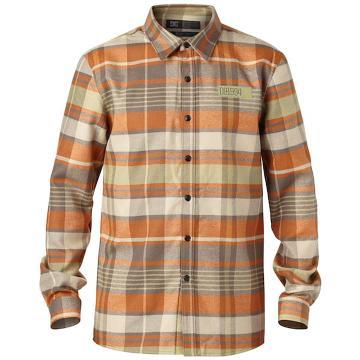 DC Men's Manual Flannel Long Sleeve Button Up Shirt