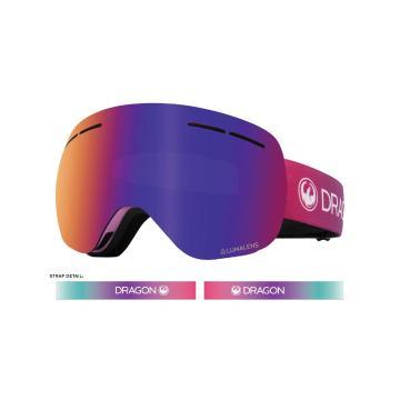 Dragon 2020 X1S Snow Goggles - CANDY/LLPURPLEION+LLAMBER