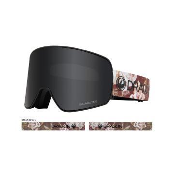 Dragon 2020 NFX2 Snow Goggles - Succulents/LLDarkSmoke+LL Rose