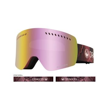 Dragon NFXs Snow Goggles - ROSE / LL PINK ION + LL ROSE