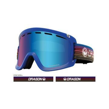 Dragon 2020 D1OTG Snow Goggles - GAMER / LL BLUE ION + LL AMBER