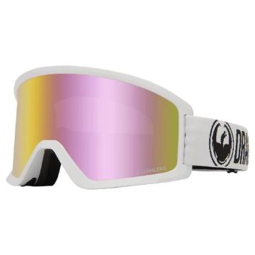 Dragon 2020 DX3 OTG Base Ion Asian Fit Goggles - WHITE/LLPINKION