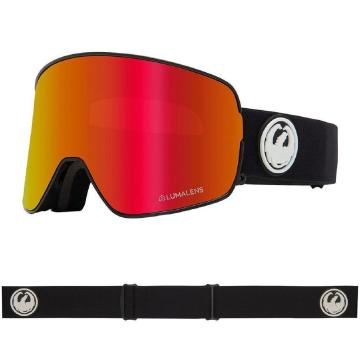 Dragon 2020 NFX2 Asian Fit Snow Goggles - BLACK/LLREDION+LLROSE