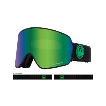 Dragon 2020 NFX2 Asian Fit Snow Goggles - GRNION+LLAMBER