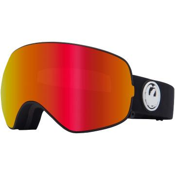 Dragon 2020 N2S Asian Fit Snow Goggles - BLACK/LLREDION+LLROSE