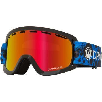 Dragon 2020 Lild Goggles - Dart Blue/LL Red Ion