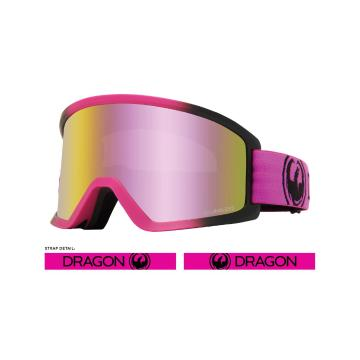 Dragon 2020 DX3OTG Snow Goggles - RASPBERRY / LL PINK ION