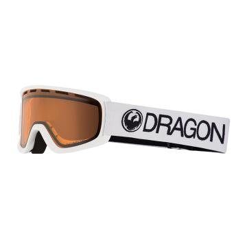 Dragon 2019 LILD Snow Goggles - White/LL Amber