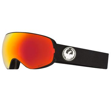 Dragon   X2s Snow Goggle - Black/LL Red Ionised