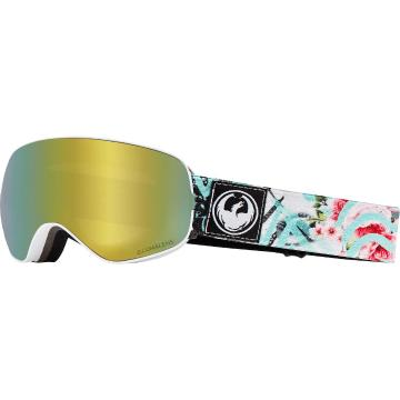 Dragon   X2s Snow Goggle - Flaunt/LL Gold Ionised