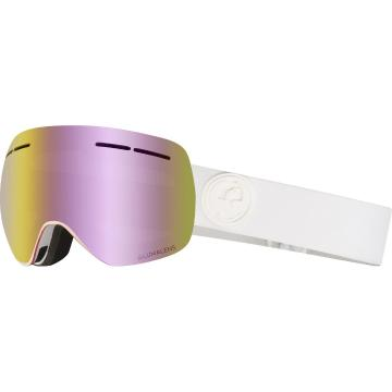 Dragon   X1s Snow Goggle - Whiteout/LL Pink Ionised
