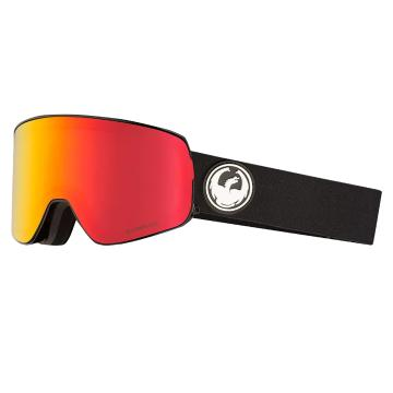 Dragon 2019 NFX2 Snow Goggles - Black/Red Ionised