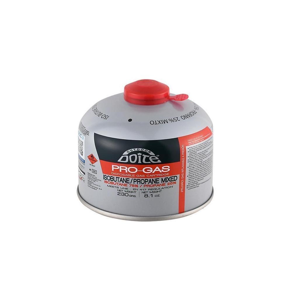Pro Gas 230gm IsoButane/Propane 75/25 Screw Canister