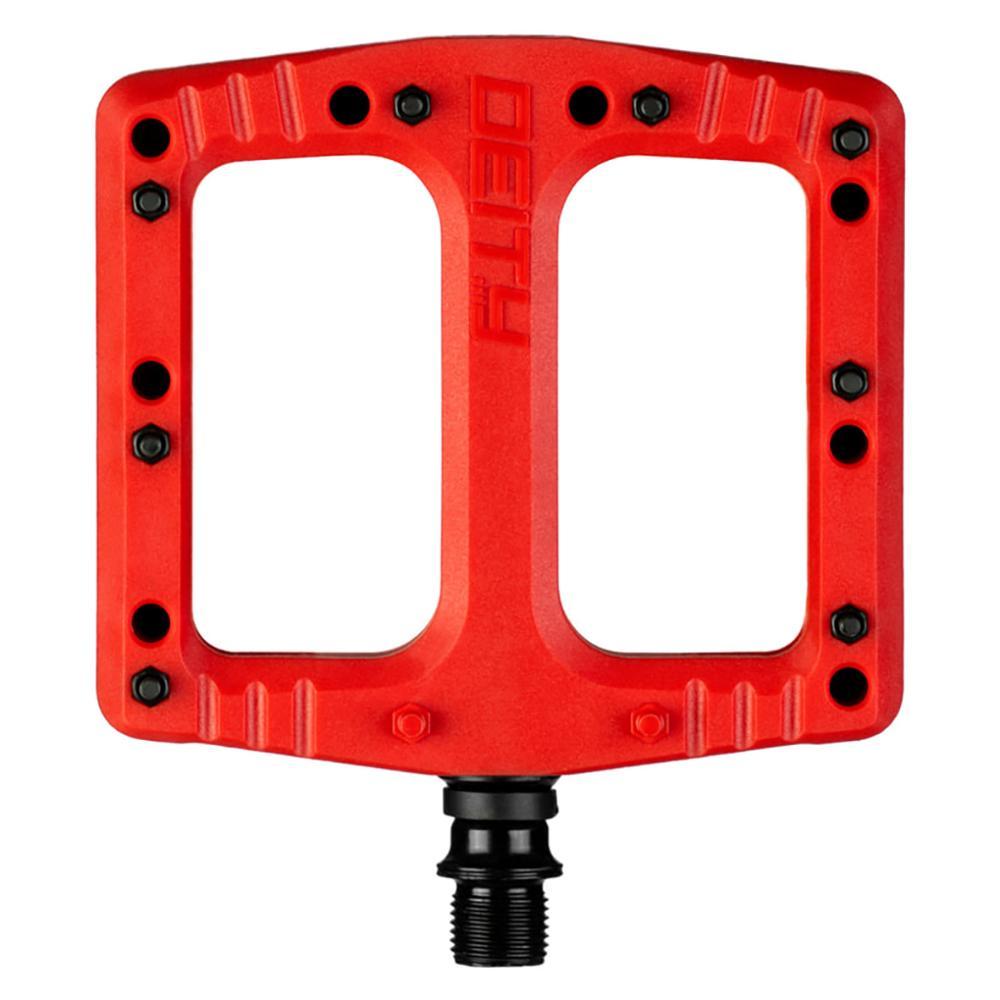Deftrap Composite MTB Pedals - Red