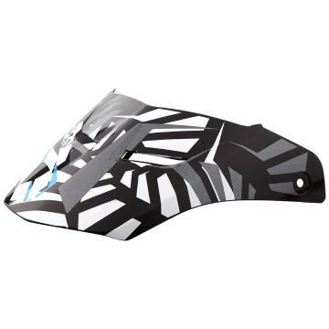 EVS Vortek T5 Helmet Visor - Panama Black/Blue