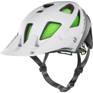 Endura MT500 Helmet, with Koroyd - White