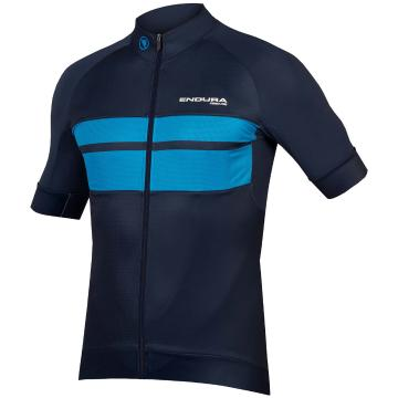 Endura FS260-Pro Short Sleeve Jersey  - Navy