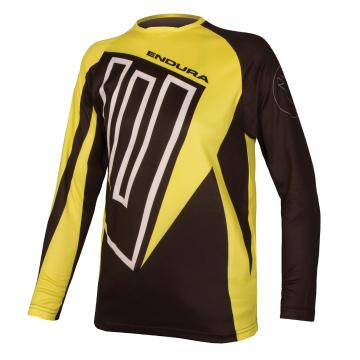 Endura Kids MT500JR Long Sleeve Jersey - Black