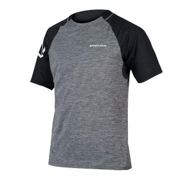 Endura SingleTrack Short Sleeve Jersey  - Pewter Grey