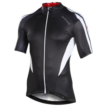 Endura FS260 Pro Printed Short Sleeve Cycle Jersey - Black