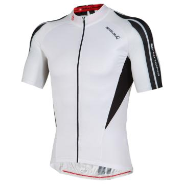 Endura FS260 Pro Printed Short Sleeve Cycle Jersey - White
