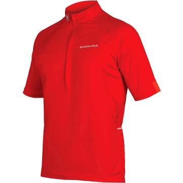 Endura Xtract II Short Sleeve Jersey - Red