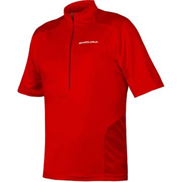 Endura Hummvee Short Sleeve Jersey  - Red