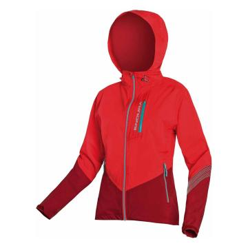 Endura Women's SingleTrack Jacket ExoShell20 - Coral