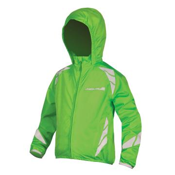 Endura 2019 Kids Luminite II Jacket - Hi Vis Green