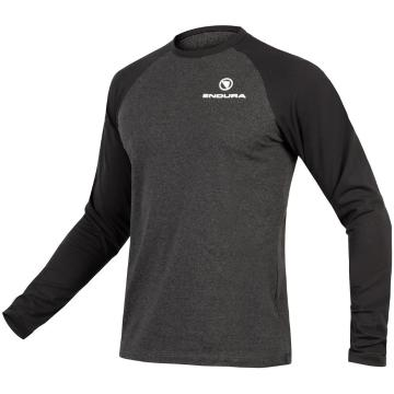 Endura One Clan Raglan Long Sleeve - Grey