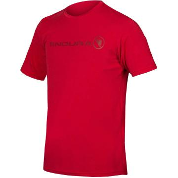 Endura Singletrack Merino Tee - Rust Red