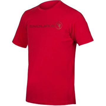 Endura Singletrack Merino Tee - Rust Red
