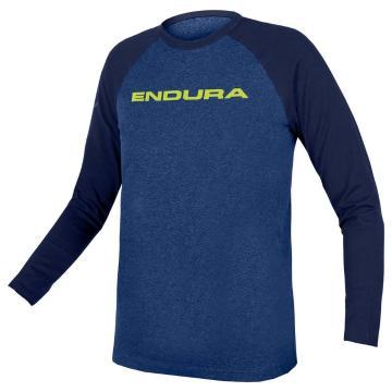 Endura Kids One Clan Raglan Long Sleeve - Blue