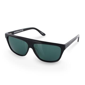 Electric Chickletts Unisex Sunglasses - Black Gloss/Grey O/S - Gloss Black/Grey
